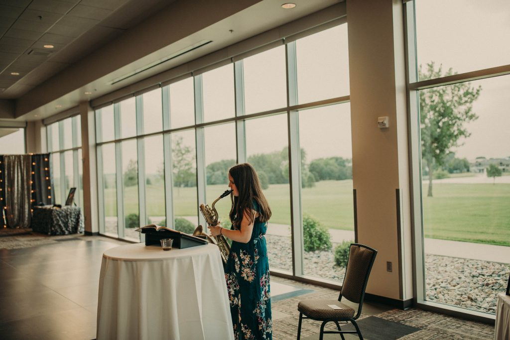 Faber Wedding | The Terrace View | Weddings & Special Events Venue near me | Venues in Northwest Iowa | Indoor and Outdoor wedding