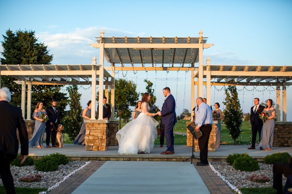 Forrestal+Kari Wedding | The Terrace View | Weddings & Special Events Venue near me | Venues in Northwest Iowa | Indoor and Outdoor wedding