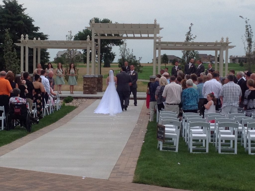 The Terrace View   Weddings & Special Events Venue near me   Venues in Northwest Iowa   Indoor and Outdoor wedding